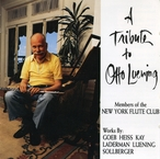 Cover for Tribute to Otto Luening
