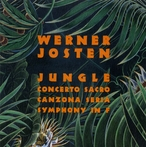 Cover for Music of Werner Josten