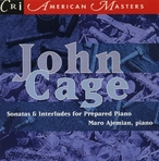 Cover for John Cage: Sonatas and Interludes for Prepared Piano