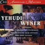 Cover for Music of Yehudi Wyner