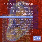 Cover for New Music for Electronic And Recorded Media: Women in Electronic Music - 1977