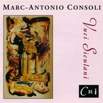 Cover for Marc-Antoni Consoli: Vuci Siculani