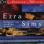 Cover for Music of Ezra Sims