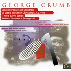 Cover for Music of Our Time, Vol. 3 - George Crumb