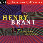 Cover for Music of Henry Brant