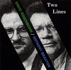 Cover for David Rosenboom: Two Lines