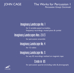 Cover for John Cage Edition, Vol. 43: The Works for Percussion 1