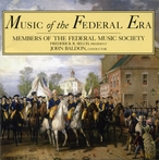Cover for Music of the Federal Era