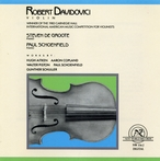 Cover for Aitken/Copland/Piston/Schoenfield/Schuller: Works for Violin