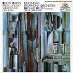 Cover for Elliott Carter: Piano Concerto/Variations for Orchestra