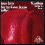 Cover for William Bolcom: Symphony #4/Session 1