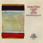 Cover for George Perle: Complete Wind Quintets