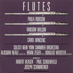 Cover for Beaser/Schoenfield/Schwantner: Flutes