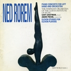 Cover for Ned Rorem: Concerto for Left Hand and Orchestra