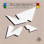 Cover for Guillermo Gregorio: Coplanar