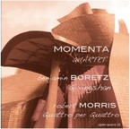 Cover for Boretz/Morris: Quartets