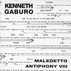 Cover for Kenneth Gaburo: Maledetto/Antiphony VIII